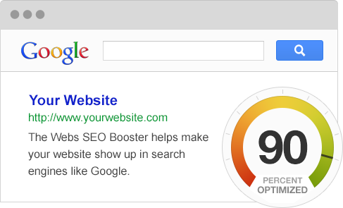 Webs SEO Booster tool